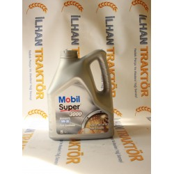 Mobil Super3000 Fully Synthetic 5w40 - 4 Lt